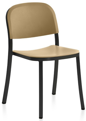 1 Inch Stacking Chair - Upholstered