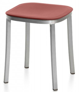 1 Inch Small Stool - Reclaimed plastic