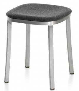 1 Inch Small Stool - Upholstered