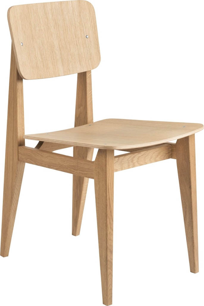 C-Chair Dining Chair - Un-upholstered Veneer