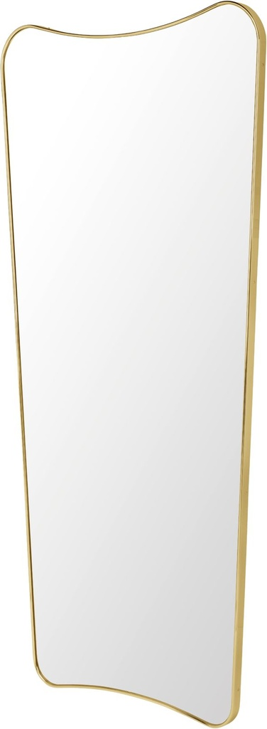 F.A. 33 Wall Mirror - 70x146 / Brass