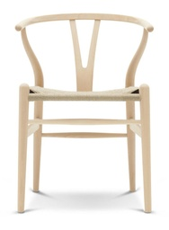 CH24 - Wishbone Chair / Beech soap / Natural paper cord