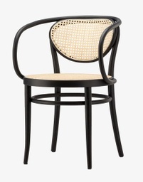 210 R Bentwood Armchair / Black