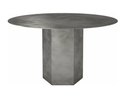 Epic Dining Table Steel - Round 130