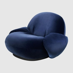 Pacha Lounge Chair with armrests - Returning swivel